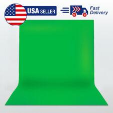 5' x 10' Studio Photography Backdrop Green Screen Photo Background USA Shipping