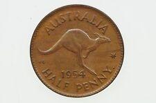 1954 Y. Half Penny Elizabeth II in Uncirculated Condition