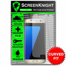 Screenknight Samsung Galaxy S7 bordo SCREEN PROTECTOR INVISIBLE SHIELD CURVO Fit