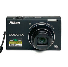 Nikon COOLPIX S6200 16.0MP Digital Camera With Battery No Charger