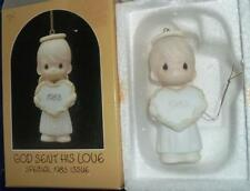 PRECIOUS MOMENTS WE HAVE SEEN HIS STAR ~ BOY w/ LAMB ORNAMENT #6120 CROSS MARK
