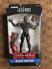 Marvel Legends Series Captain America Civil War Black Panther With Baf Part
