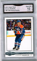 2015 Connor McDavid Upper Deck OPC Glossy Rookie Gem Mint 10 #R1