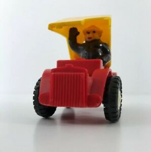 Vintage SMOKEY THE BEAR TOY TRUCK Multiple Toymakers 1960s Jeep Car AS-IS