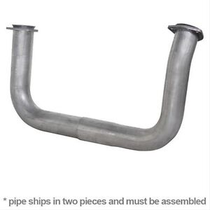 "DIAMOND EYE 321099 - 2.5"" Exh Crossover Pipes Aluminized for GM 6.5L Diesel"
