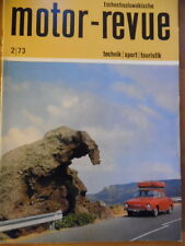 Tschechoslowakische MOTOR REVUE  2 - 1973 * Six-days Pittsfield Salon Turin Jawa