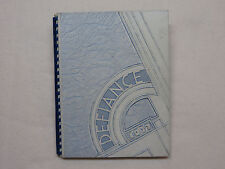 1937 DEFIANCE HIGH SCHOOL YEARBOOK DEFIANCE OH  OHIO