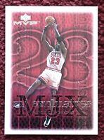 MICHAEL JORDAN 1999-2000 Upper Deck MVP MJ Exclusives *SILVER SCRIPT* #192 🏀🏀