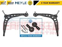 FOR BMW E36 MEYLE HD 2 LOWER TRACK CONTROL ARM ARMS REAR 2 BUSH BUSHES FITTED