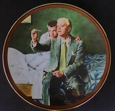 """Knowles Norman Rockwell """"The Country Doctor"""" Collector Plate Limited Edition"""