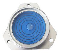 Medium Metal Mounting Bulls Eye Spirit Bubble Plumb Level Blue Liquid circular