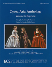 Opera Aria Anthology,Volume 1 (Soprano) MUSIC BOOK-BRAND NEW ON SALE-PIANO/VOICE