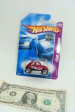 Hot Wheels 2008 Mainline Team Volkswagen - Red Baja Beetle - M6905