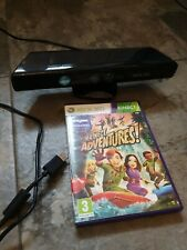Xbox 360 Kinect Sensor bundle Black with Kinect Adventures Game