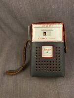 1960s Sinclair Dino Gasoline promotional gas-pump-shaped Transistor Radio