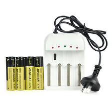 20/10/4/2 Li-ion 4000mAh 3.7V Rechargeable 18650 Battery Charger F Fishing Torch