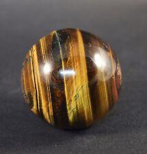 Sphere Boule en Oeil de Tigre du Bresil 181g Œil