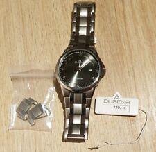 Dugena Herren Gent Titan Armbanduhr, Ø 39,5mm, Silber, wie Neu.