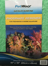 CUT-TO-FIT Filter Pad PHOSPHATE REMOVER 25cm X 45cm