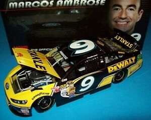 Marcos Ambrose 2014 Stanley #9 Richard Petty Ford Fusion 1/24 NASCAR Diecast