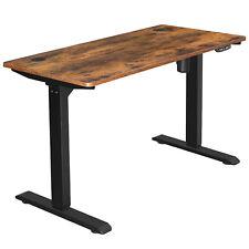 Elektrischer Schreibtisch Schreibtischständer mit Motor Höhenverstellung73-114cm