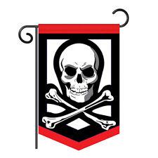 Pirate Garden Size Flag - Applique Decorative Garden Flag - G165056-P2