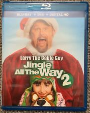 JINGLE ALL THE WAY 2 BLU RAY DVD 2 DISC SET FREE WORLD WIDE SHIPPING BUY IT NOW