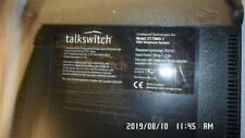 Talkswitch CT.TS001.1 PBX Telephone System No AC Adapter for parts or repair
