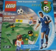 LEGO 3410 SOCCER / FOOTBALL FIELD EXPANSION SET FOR CHAMPIONSHIP CHALLENGE 3409