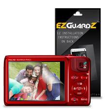2x Protector De Pantalla Canon EOS 1000D protección Film Protector de pantalla claro