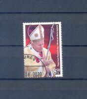 RUMANIEN    2020 CENTENARY OF THE BIRTH POPE PAUL II  GESTEMPELT