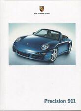 Precisión 911 Porsche folleto de ventas
