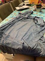 Fila Sport Mens Long Sleeve Hooded Shirt Size 2XL