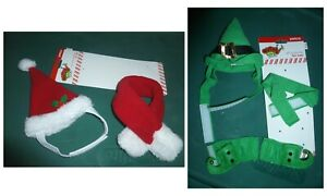 Christmas Costume for Cats-set of 2