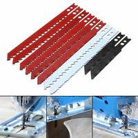 US 10pcs Jigsaw Blades Set for Black and Decker Jig Saw Metal Plastic Wood Blade