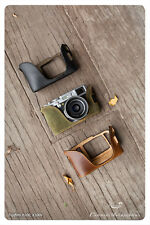 Kenji Leather Half Case for Fujifilm fuji X100T X100 X100S