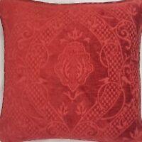 A 16 Inch cushion cover in Laura Ashley marlborough Raspberry fabric