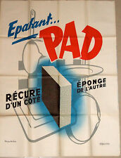 Original French 1950s Epatant Pad poster