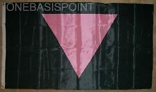 3'x5' Holocaust Flag Jewish Remembrance Shoah Hebrew Concentration Camps New 3x5