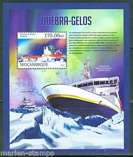 MOZAMBIQUE 2013 ICE BREAKER SHIPS  SOUVENIR  SHEET MINT NH