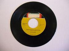 B.B. King Christmas Celebration/Easy Listening 45 RPM Kent Records