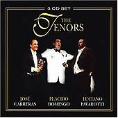 CARRERAS DOMINGO PAVAROTTI The Tenors 3 CD BOX SET  NEW - NOT SEALED