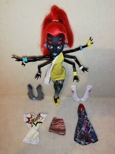 Monster High Wydowna Spider - I Love Fashion. INFECTIOUS, INFESTING & GROOVY!