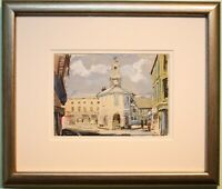 Original Watercolour Painting THE PEPPERPOT GODALMING SURREY by John Victor Emms