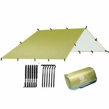 Camping Sun Shelter Shade 3x3 Meter  Size Waterproof Ultralight Tarp Awning Tent