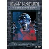 IRON MAIDEN - VISIONS OF THE BEAST 2 DVD NEW+