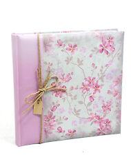 Elegante Album Fotografico Classico Garden 32x32 cm. 100 pagine - Rosa