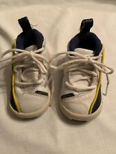 Nike Air Jordan Leather Boys Baby Crib/Toddler Shoes Size 3C Leather Shows Wear