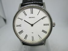 VINTAGE SEIKO 2220-0430 STAINLESS STEEL HANDWIND MENS WATCH
