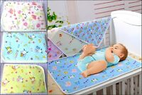 Baby Waterproof Sheet Protector Mattress Bedding Diapering Changing Pads Cover